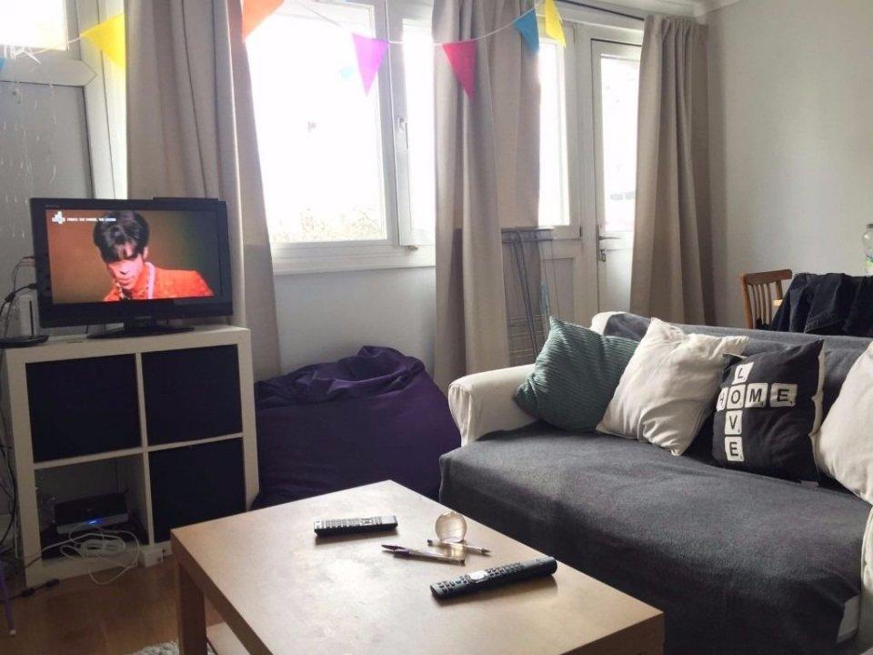 Big double room near Kings Cross, shared lounge video thumbnail